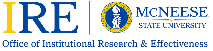 Institutional Research and Effectivenes Logo Identity