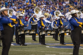 McNeese Marching Band goes to London