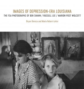 Book cover for Images of Depression-Era Louisiana