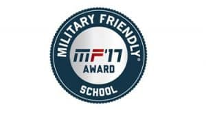 Military Friendly School round seal
