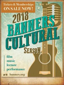 2018 Banners Cultural Season poster
