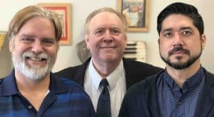 Ulysses Loken, Rod Lauderdale and John Garst