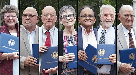 Seven past faculty members were awarded emeritus status.