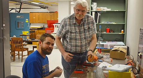 Anthony Miller works with Dr. T. Gregory Guzik at Louisiana State University.