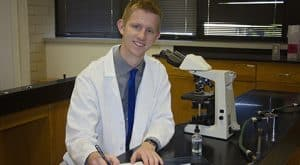 Robert Rutz will study in Bethesda, Maryland for a 10-week summer internship.