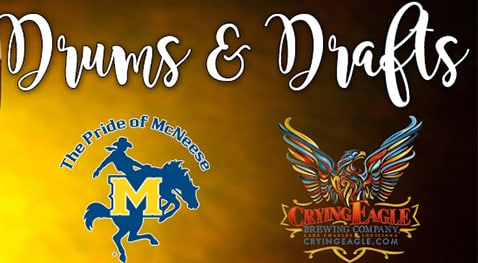 Drums and Drafts promo