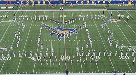Pride of McNeese Marching Band