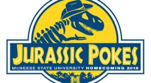Jurassic Pokes Homecoming Logo