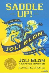 Joli Blon beer poster