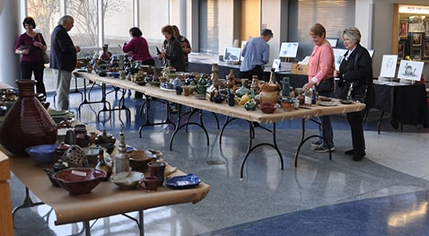 The Holiday Art Sale will be Nov. 30 8 a.m. to 4 p.m.