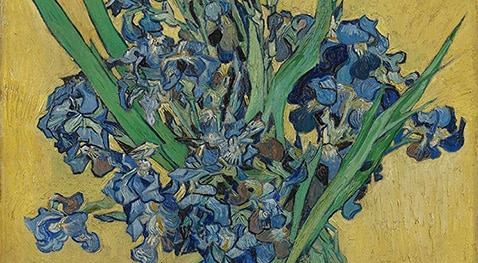 A floral painting by van Gogh