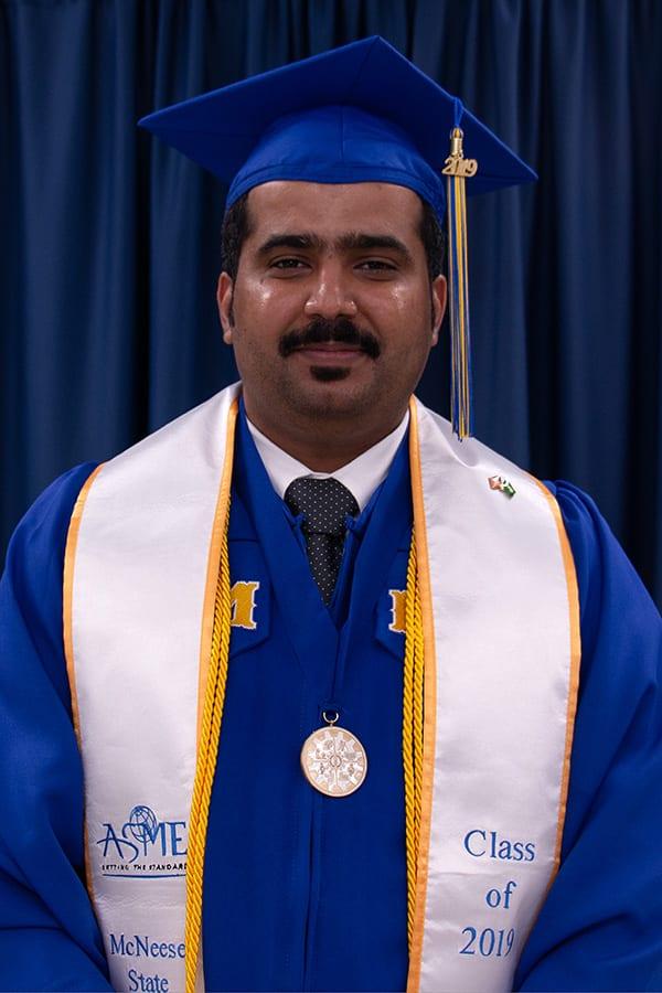 McNeese graduate Abdulrazaq Alanazi