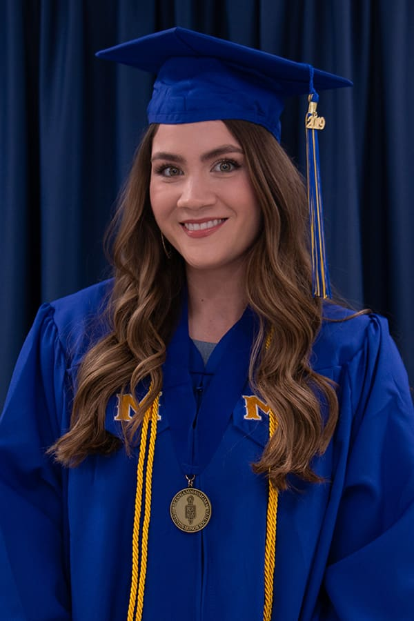 McNeese graduate Elizabeth Gober
