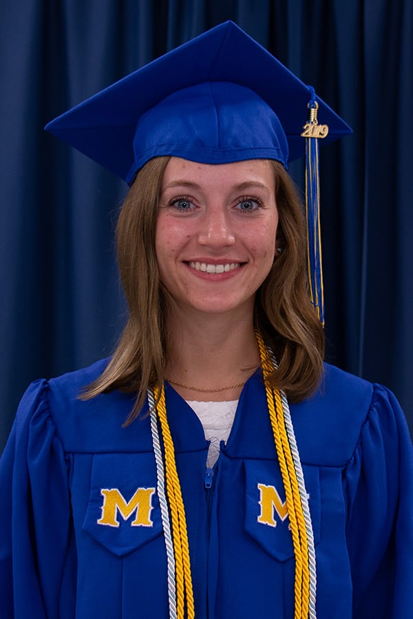 McNeese graduate Katelyn Richard