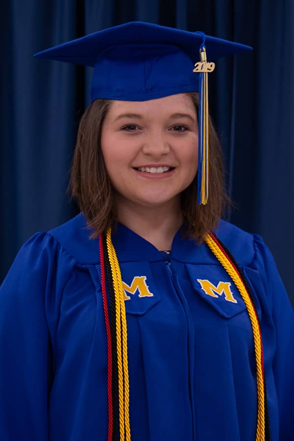 McNeese graduate Molly Kate Thompson