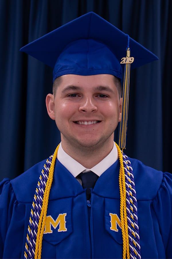 McNeese graduate Nicholas Bienvenu