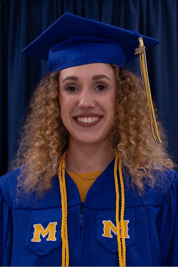 McNeese graduate Sarah Brignac