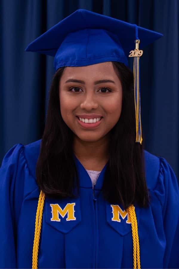McNeese graduate Yennifer Flores