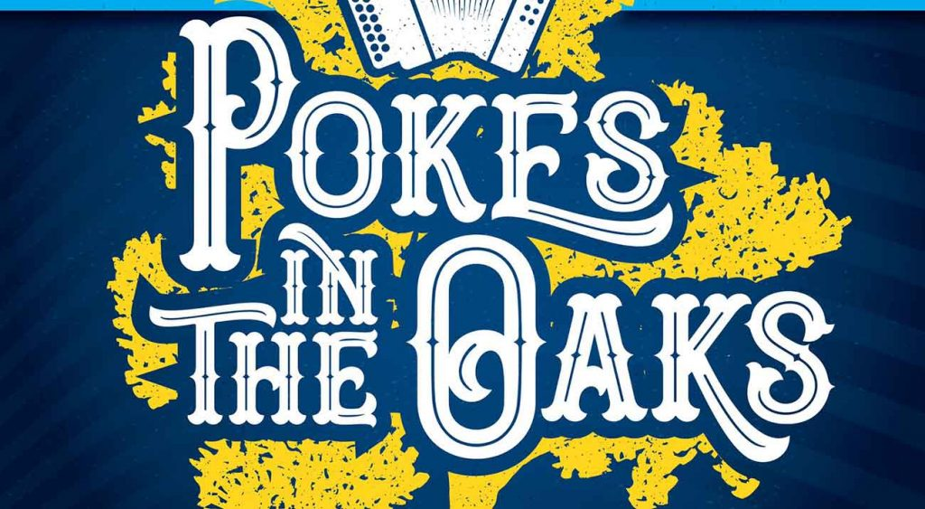 Pokes in the Oaks Poster