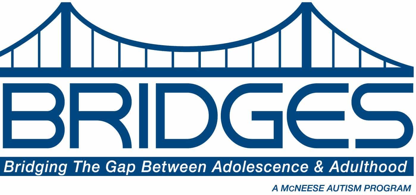 McNeese Autism Program Bridges Logo