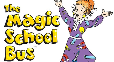 Ms. Frizzle welcoming the Magic School Bus