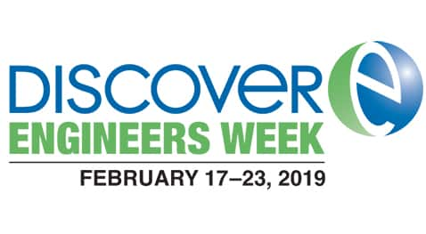 National Engineers Week Discover logo