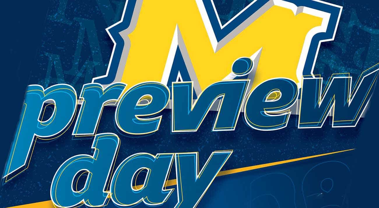 Preview Day poster