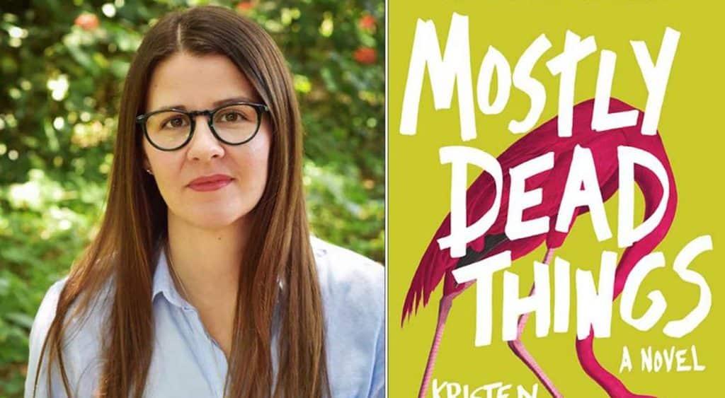 Kristen Arnett and her Book Cover