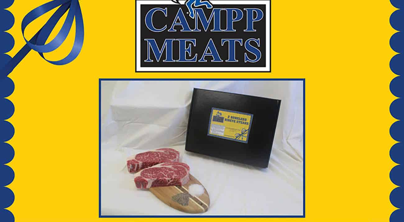 CAMPP meats on display