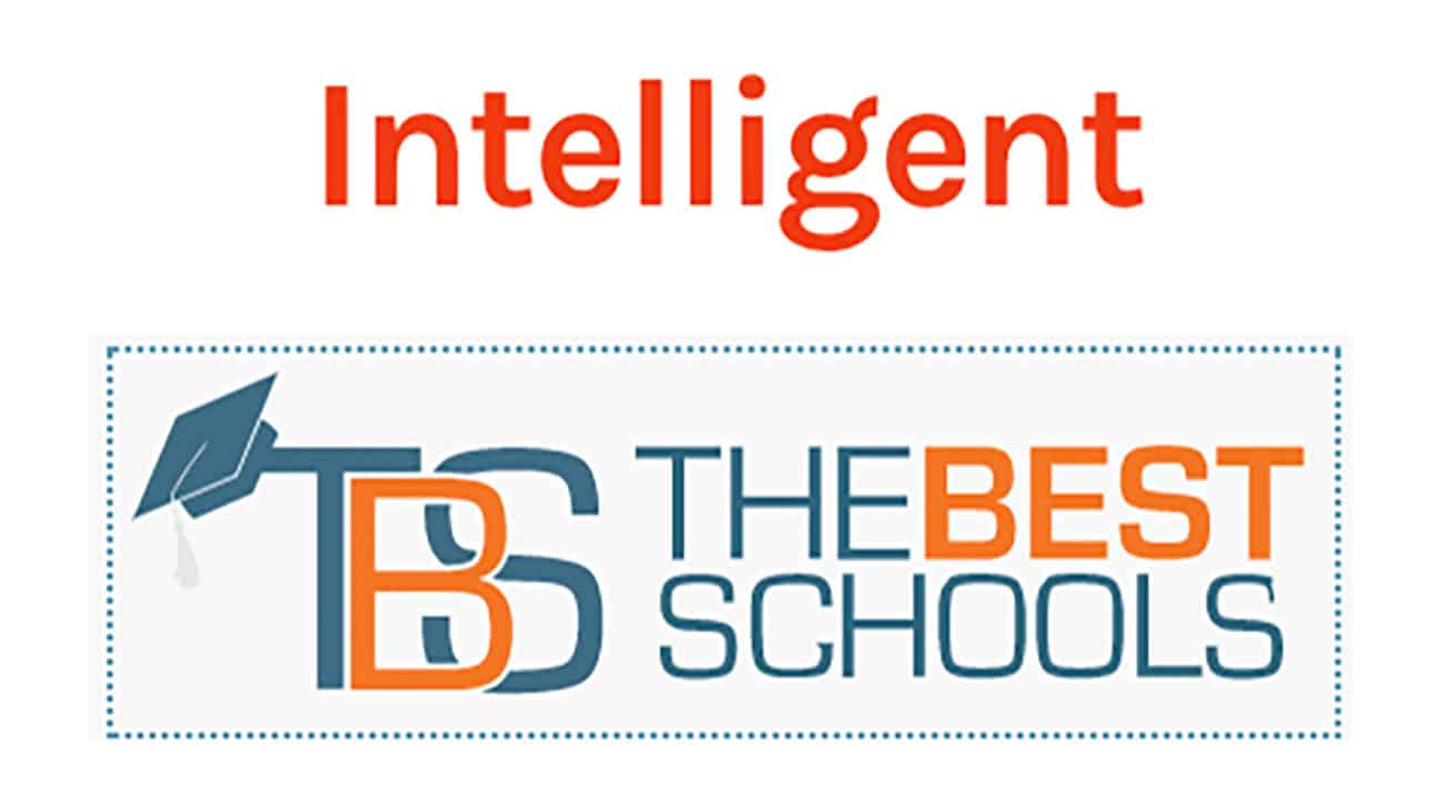 Logos for Intelligent and The Best Schools