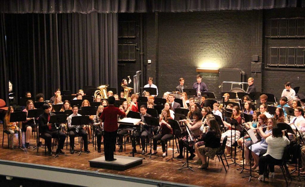 Honor Band performs