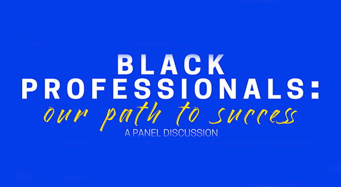 Logo text for the panel discussion
