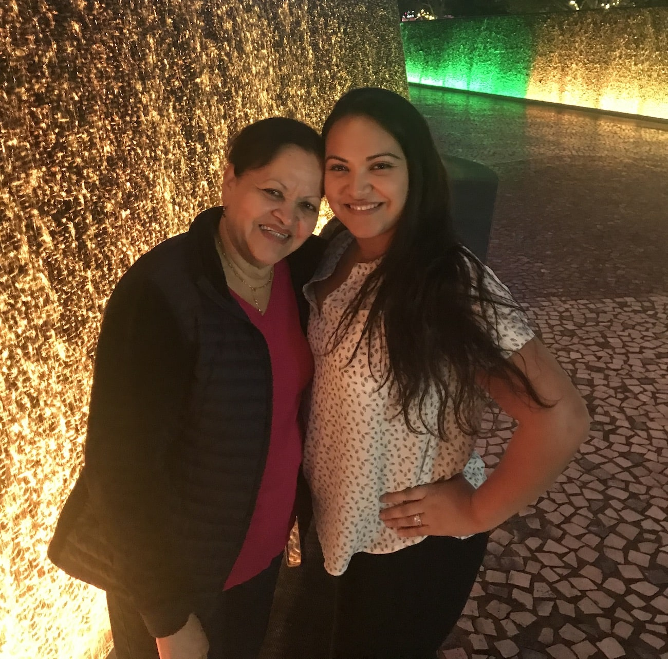 Lissette Tersiev and mother