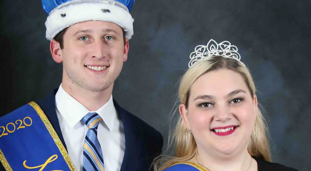 Health and human performance seniors Andrew Eakin and Carlee Smith have been named Mr. and Miss McNeese on the 2020 McNeese State University Spring Court.