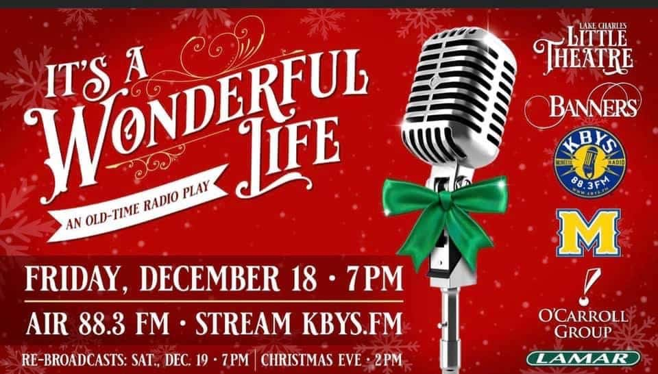 It's a wonderful life post with presentation dates