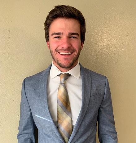 Lucas Sonier, President of McNeese SHRM Chapter