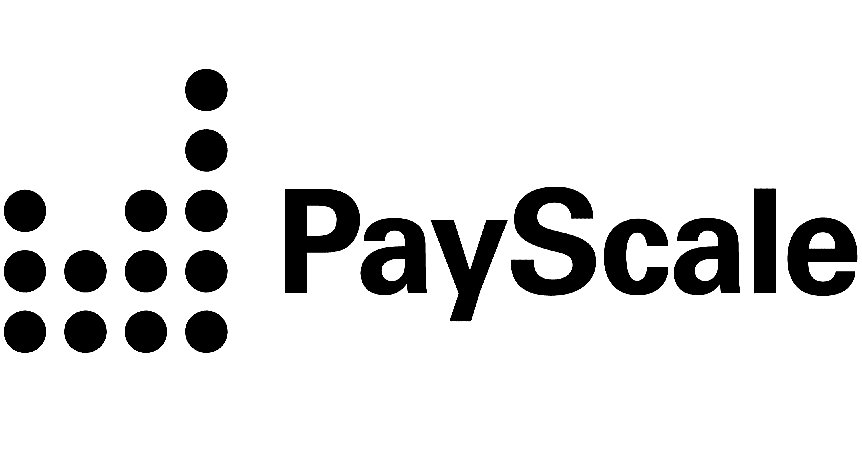 A series of columns makes the PayScale logo
