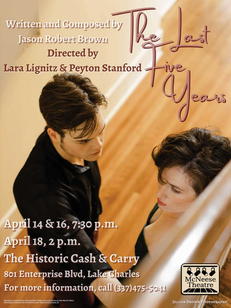 McNeese Spring Theatre presents The Last Five Years