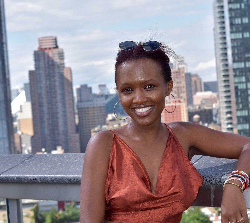 McNeese chemical engineering student Aimee Ingabire
